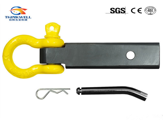 Powder Coating Steel Tow Shackle Mounth Hitch Receiver