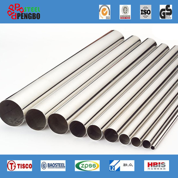 304/316L/310S/201 Stainless Steel Seamless Pipe with Ce Factory