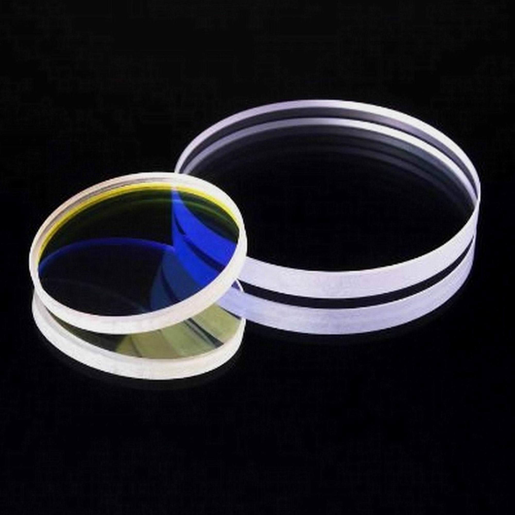 Fused Silica Circular Round Window