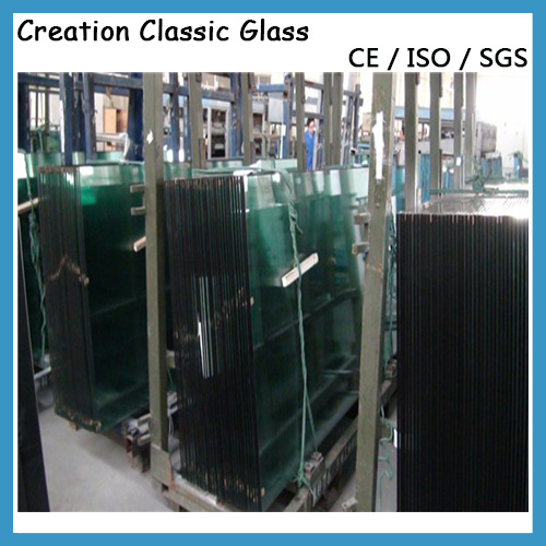 6.38mm Tempered Laminated Glass Processed Glass