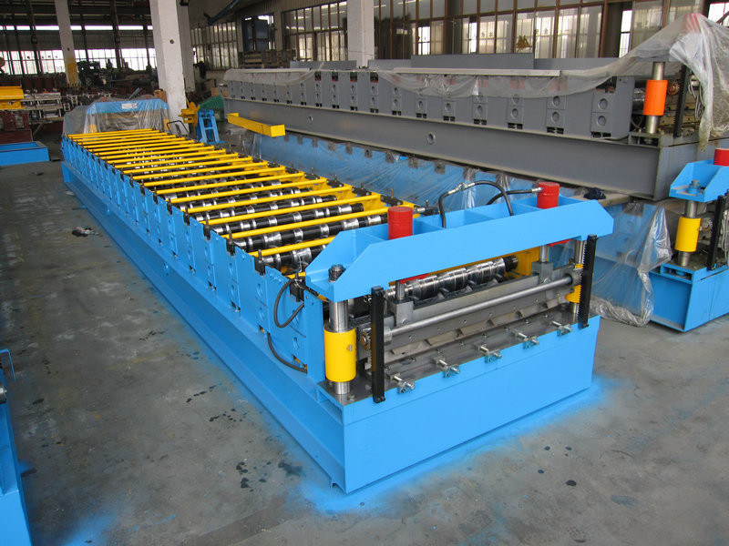 Steel Tile Roll Forming with Warrant Quality