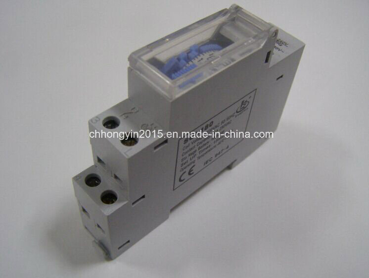 Sul180A DIN-Rail Type 70hour Storage Time Timer