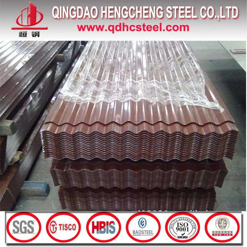 SGCC Dx51d PPGI Prepainted Corrugated Metal Roofing Sheet