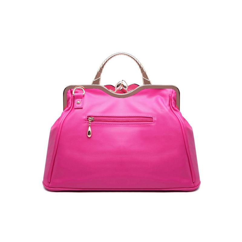 Handbags with Flower on Front of Handbag