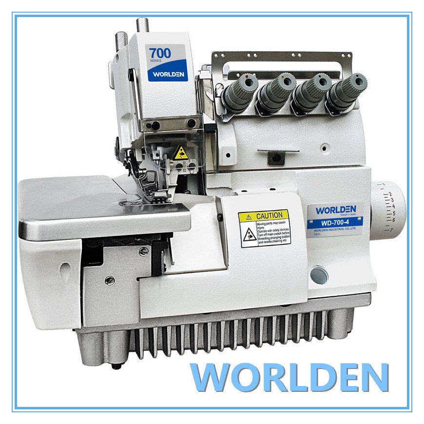 Wd-700-4/700-4h Four Thread Overlock Sewing Machine