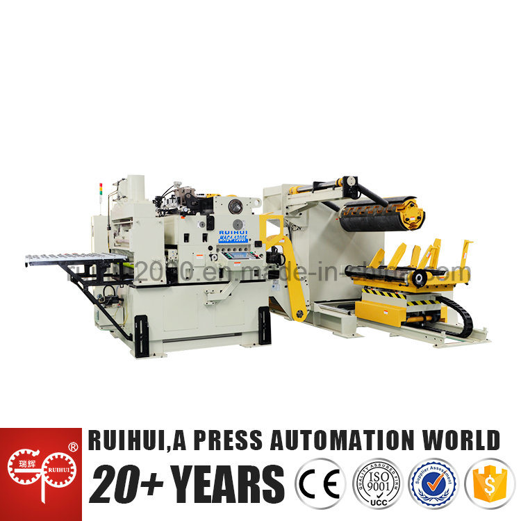 Automatic Machine Straightener Feeder with Nc Servo Feeder Use in Hardware Manufacturers