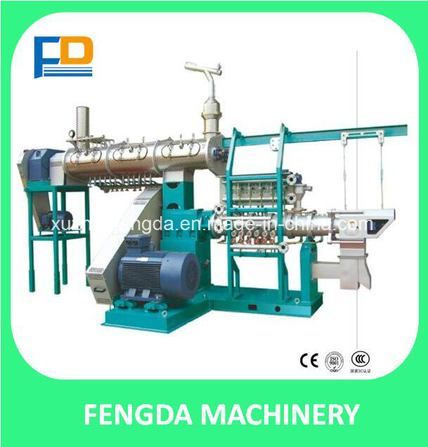 Feed Machine-Single Screw Steam Extruder for Aquafeed and Livestock Feed