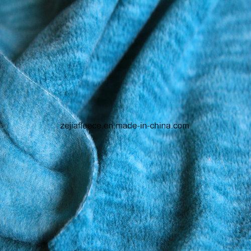 Cation Printing Effect Micro Fleece, Jacket Fabric