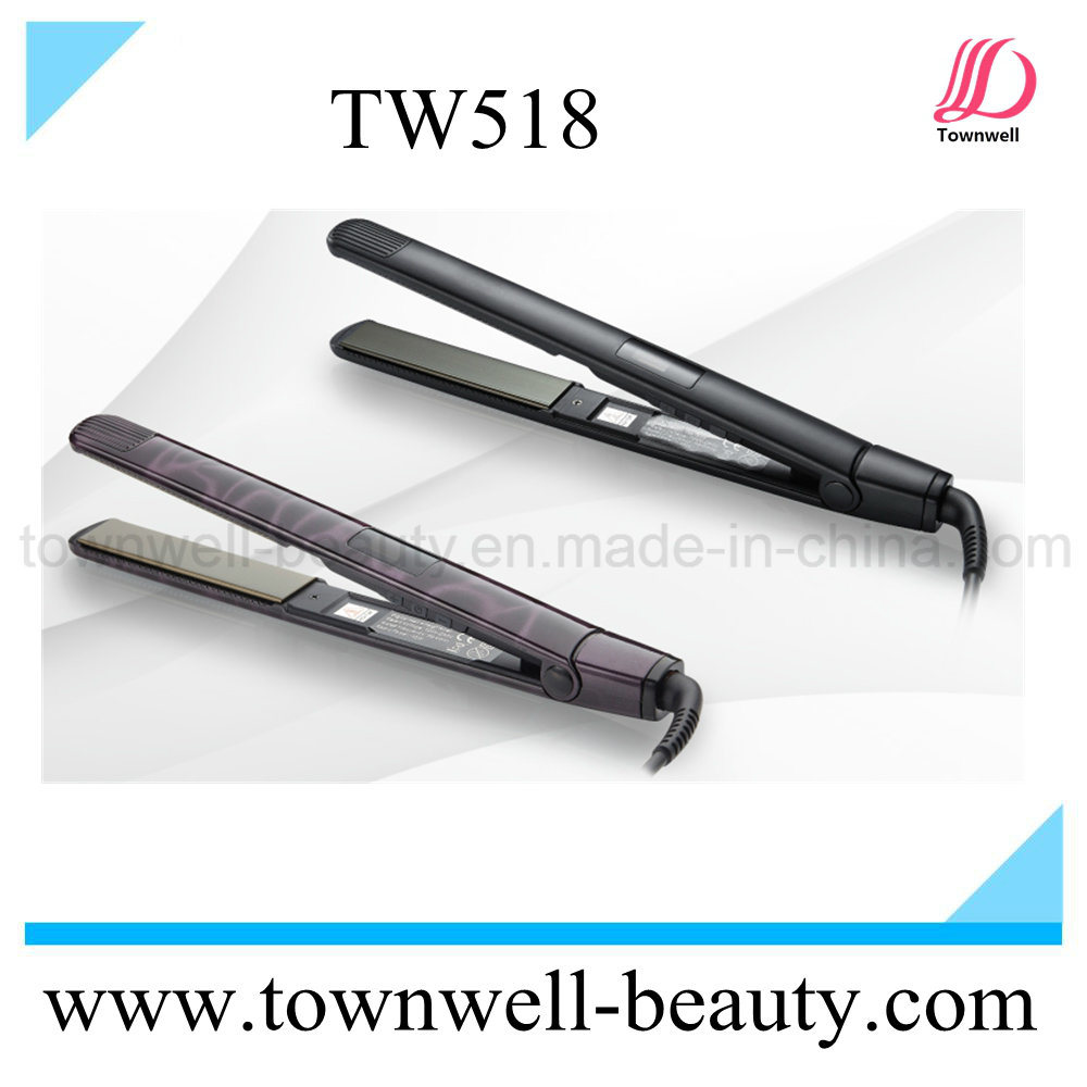 Professional Hot Selling Mch Hair Flat Iron with LCD Indicator