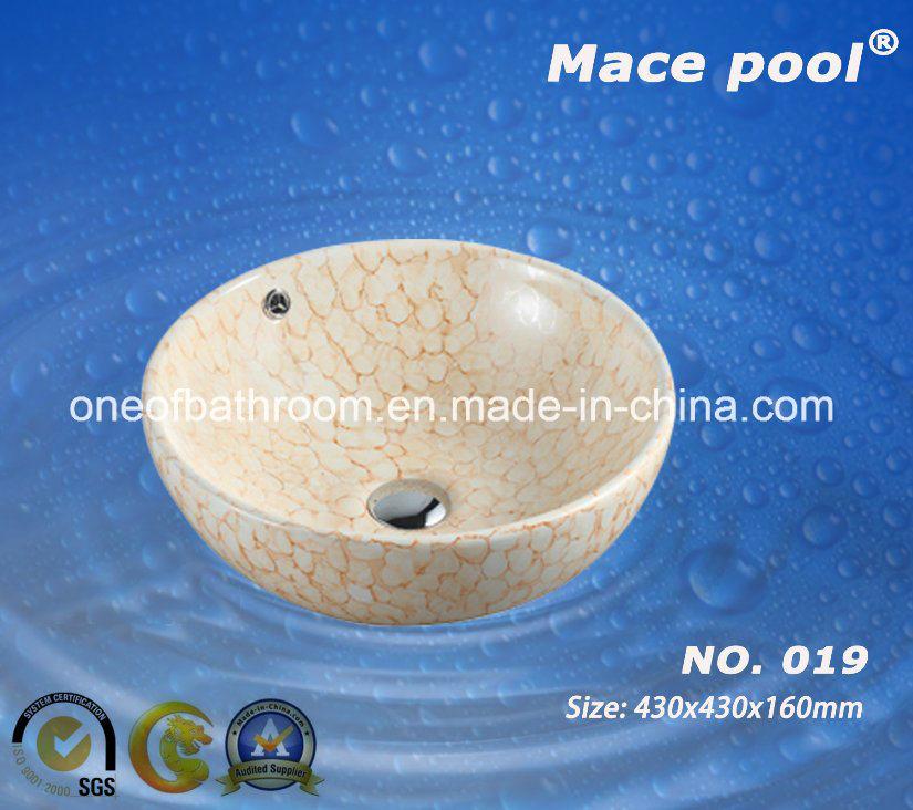 Beautiful Type Ceramic Wash Basin Bowl Sanitary Wares (019)