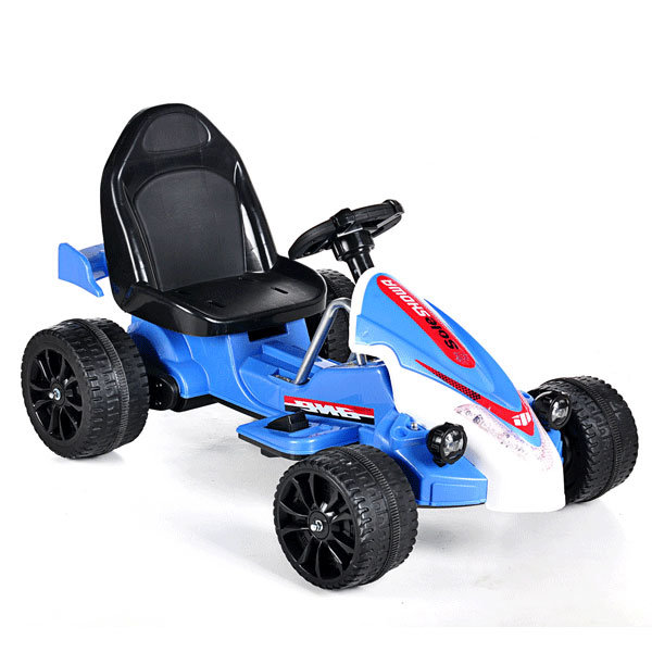 Electric Ride-on Children′s Toy Car- Remote Control Blue Kart