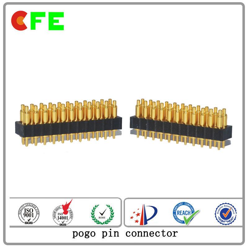 Double Row DIP 22pin Pogo Pin Connector