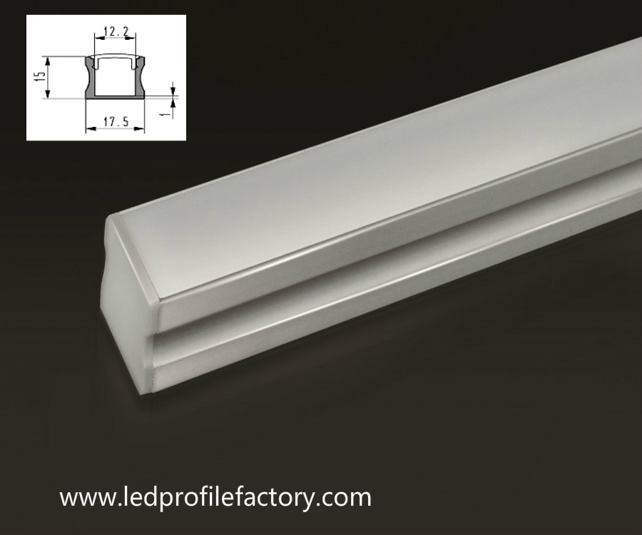 Pn4140 Linear Light LED Aluminium Profile for Kitchen Cabinets Lighting