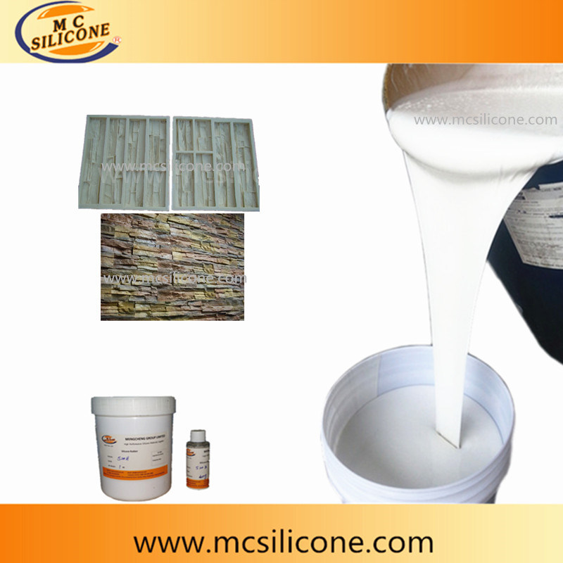 Artificial Stone Mold Making Liquid RTV2 Silicone Rubber