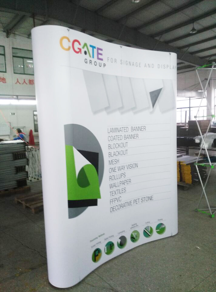 Magnetic Pop up Banners and Advertising Pop up Stands Wedding Backdrop