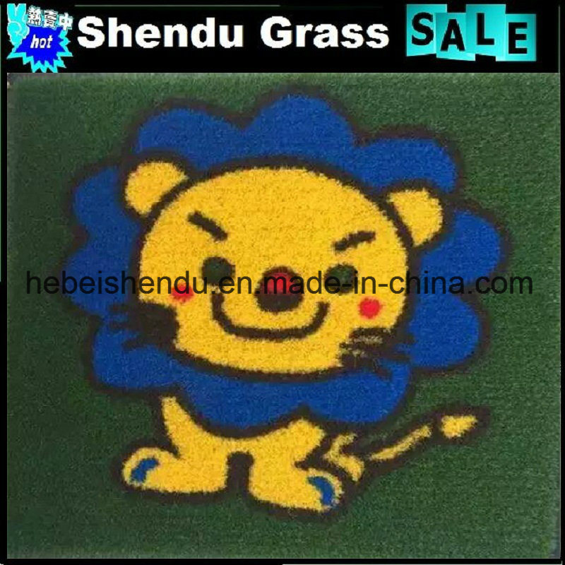 Carton Artificial Grass Mat with Size 1mx1m