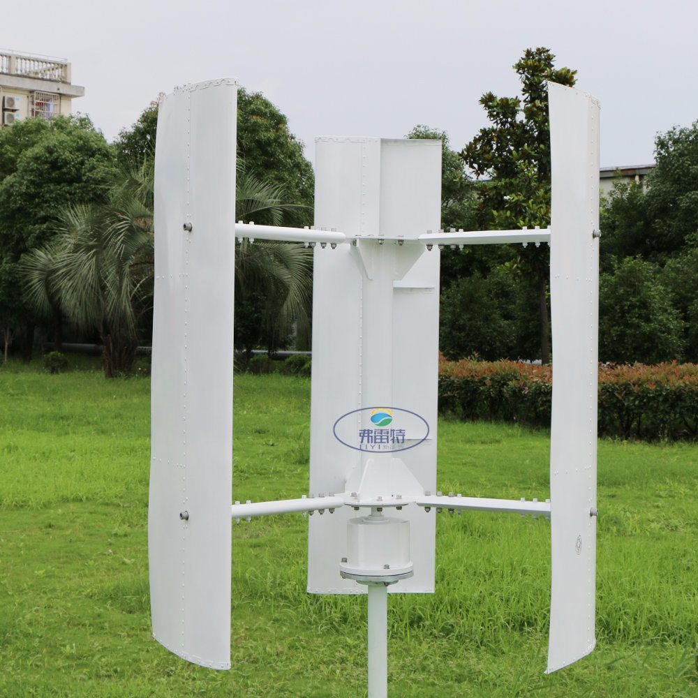 1kw Vertical Wind Turbine Generator 48V AC out Put, Low Noise and Started Wind Speed