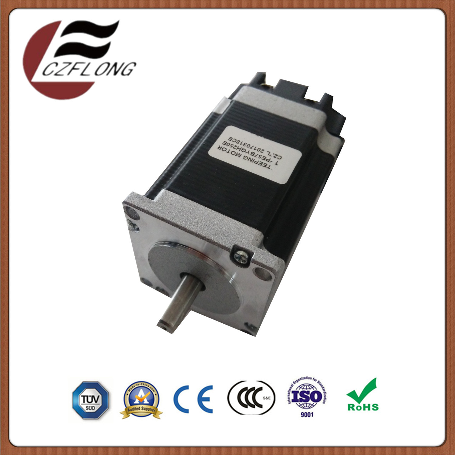 Warranty 1-Year NEMA23 57*57mm Stepping Motor 1.8-Deg for CNC Machine