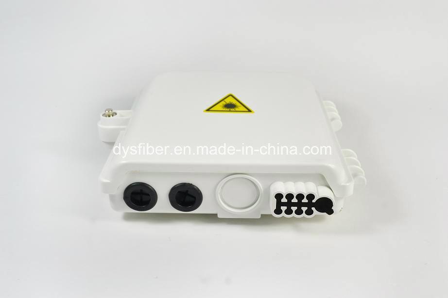 8port FTTH Waterproof Fiber Optic Terminal Box