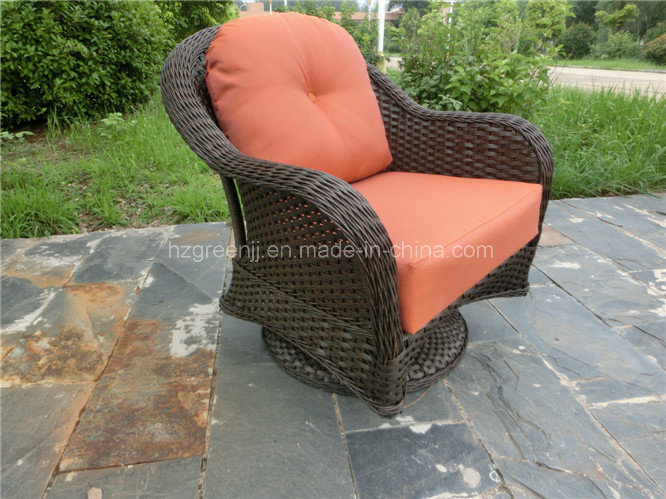 10mm Half Moon Curve Flat Wicker Dining Set