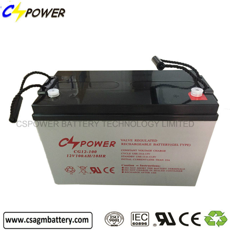 12 Volt 38ah Cspower Battery, VRLA UPS Solar Battery Cg12-38