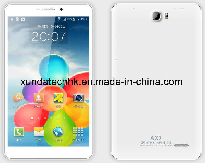 Tablet Computer 4G CPU Octa Core Mtk8392 Inch Ax7