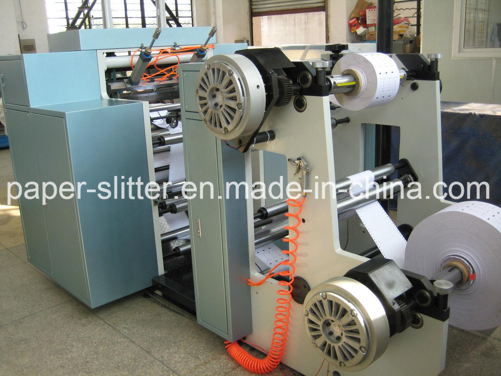 Double Layer Slitter Rewinder Machine
