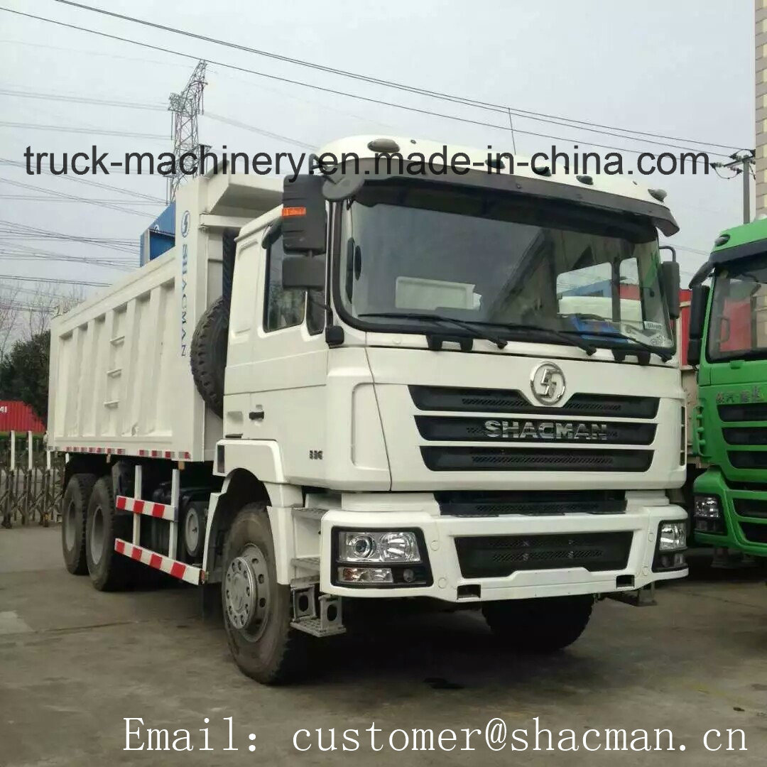 F2000 Shacman 6X4 Dump Truck 340HP Weichai Engine