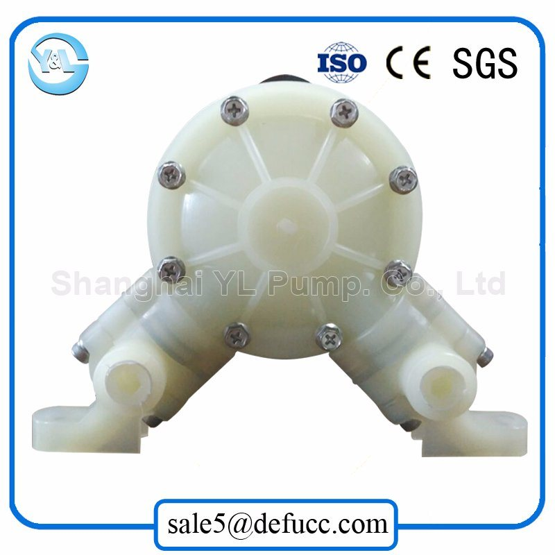 Micro Plastic Air Operated Double Diaphragm Pump
