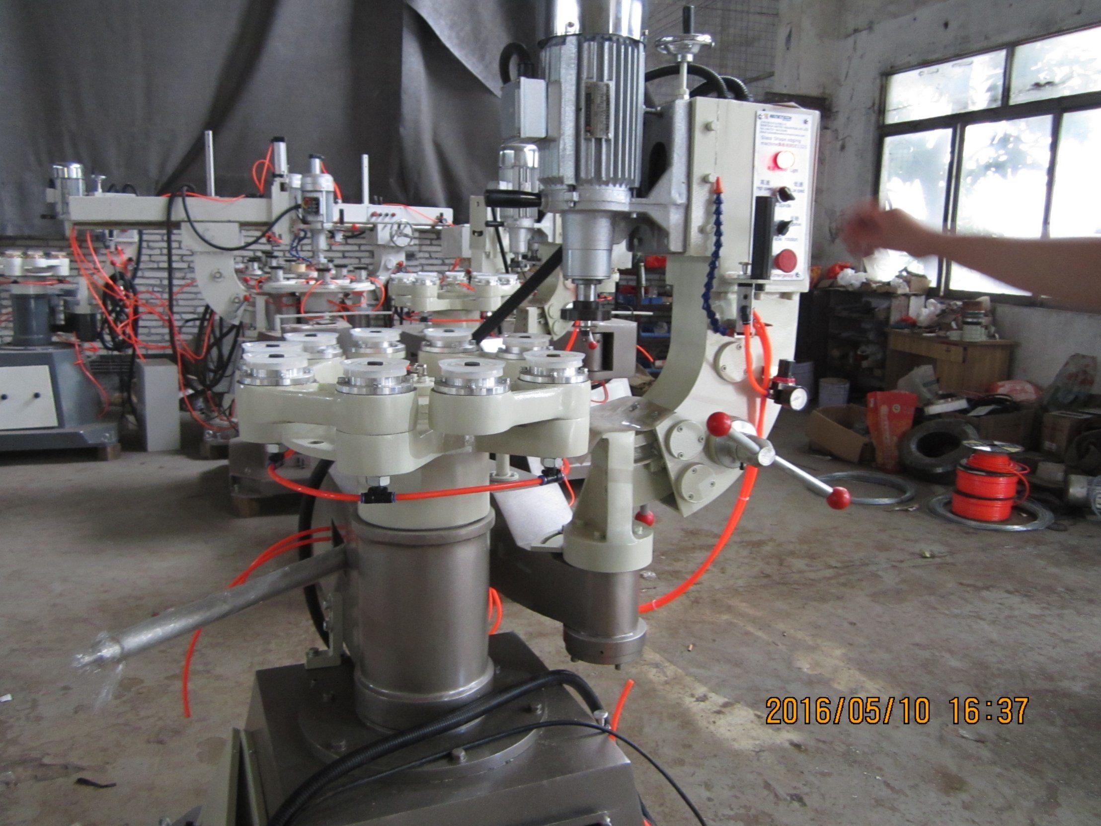 Shape Glass Edging Machine, Glass Shape Edger, Glass Profiling Grinding Machine