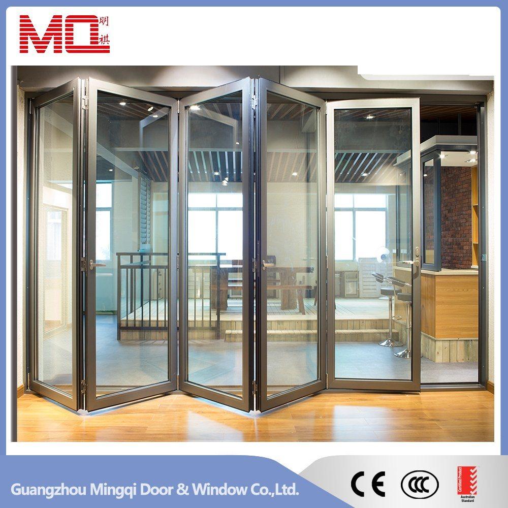 Thermal Break Exterior Aluminum Bifold Door