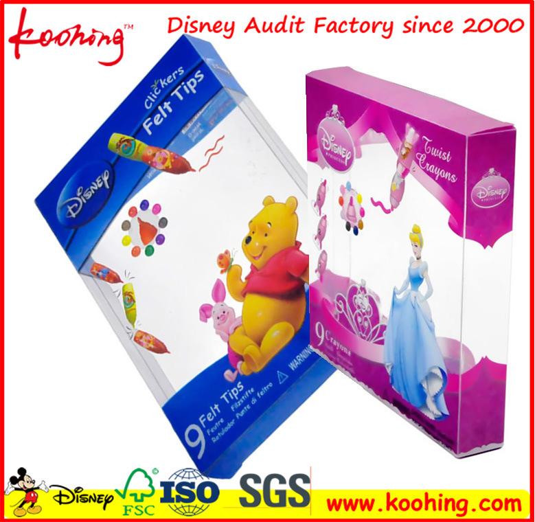 Transparent Pet/PVC Box for Toys/Cosmetics