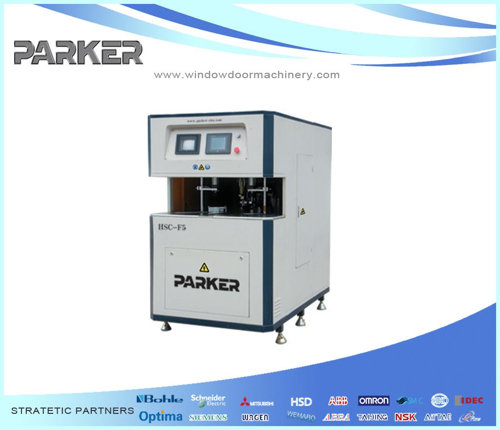 Plastic Window Machine Corner Cleaning Machine Equipment