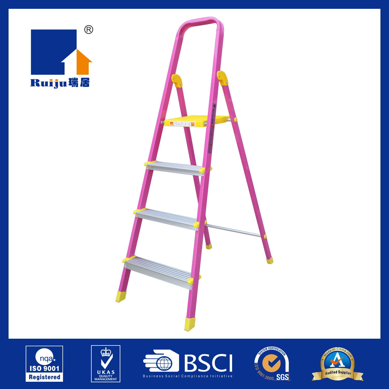 Pink Paint Aluminum Ladder