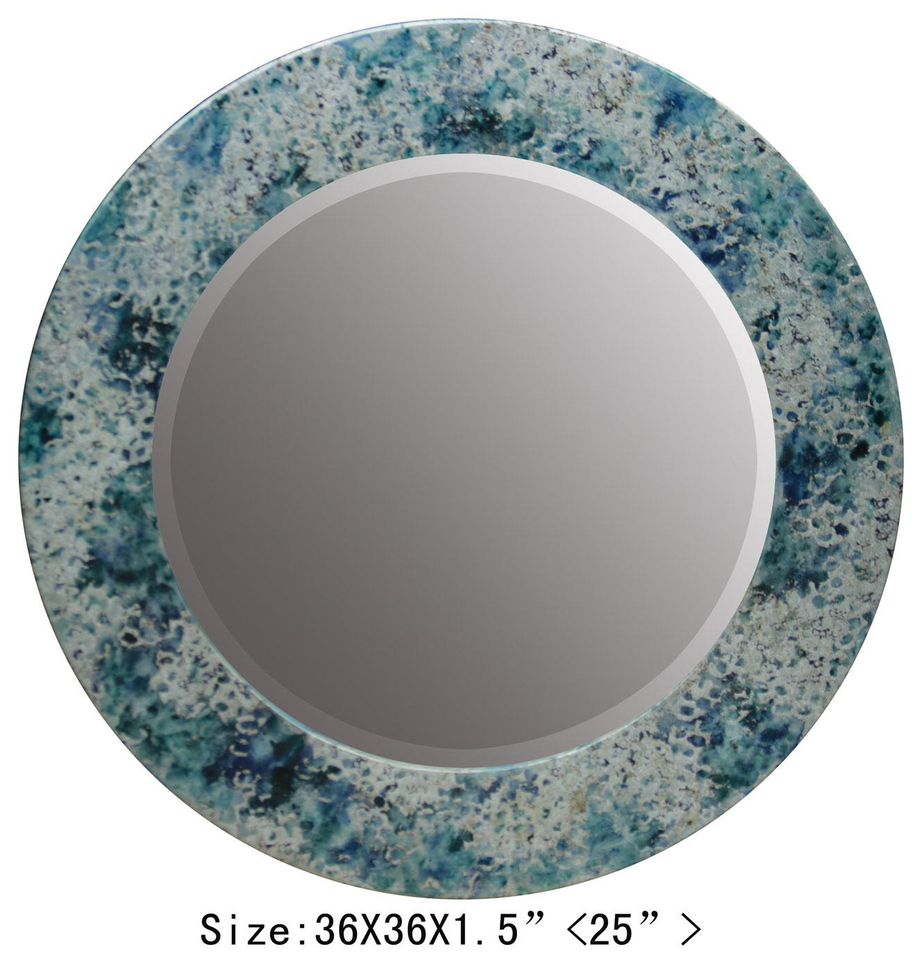 Wall Art for Holesale Home Interior Walls Decorative Foil Wall Mirror
