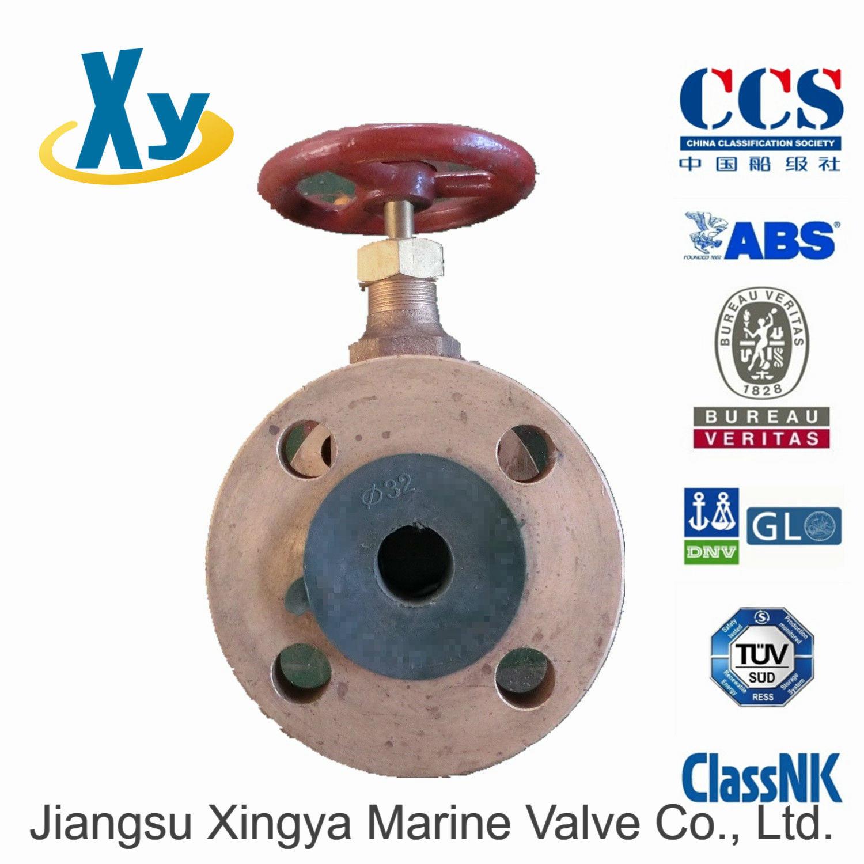 Marine Bronze Globe Valve JIS F7303 F7304 16k