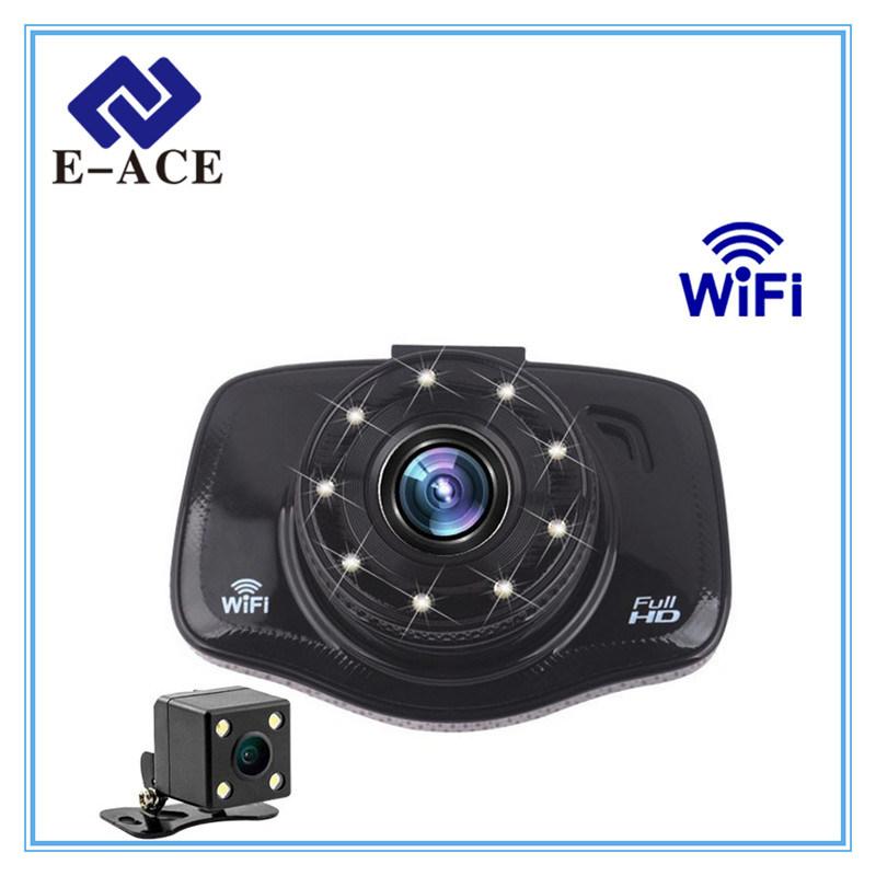 FHD 3 Inch Mini Dash Cam WiFi Car DVR