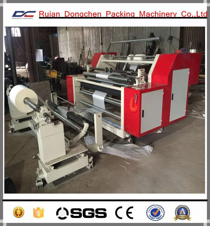 Horizontal Type Paper Roll Slitting Rewinding Machine (DC-HF1100)