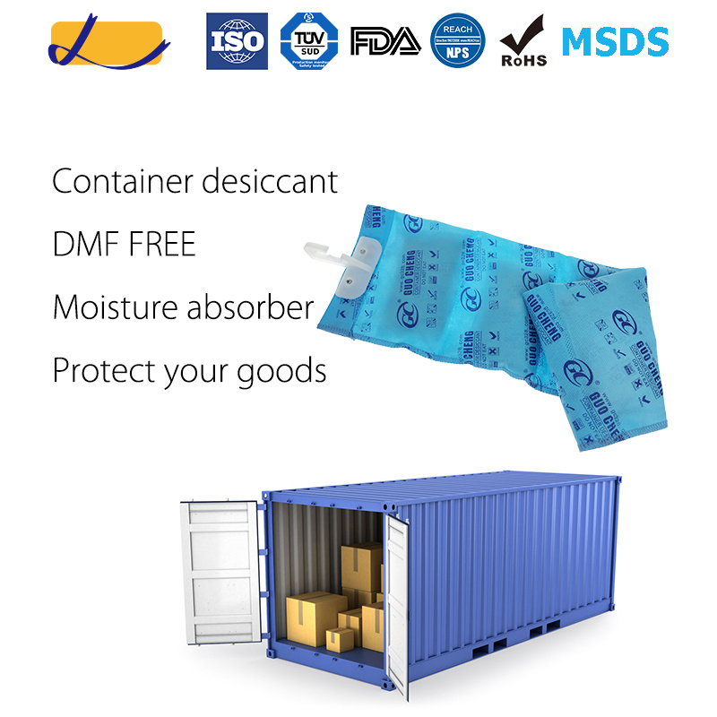 High Performance Hanging Desiccant for Cargo/Container