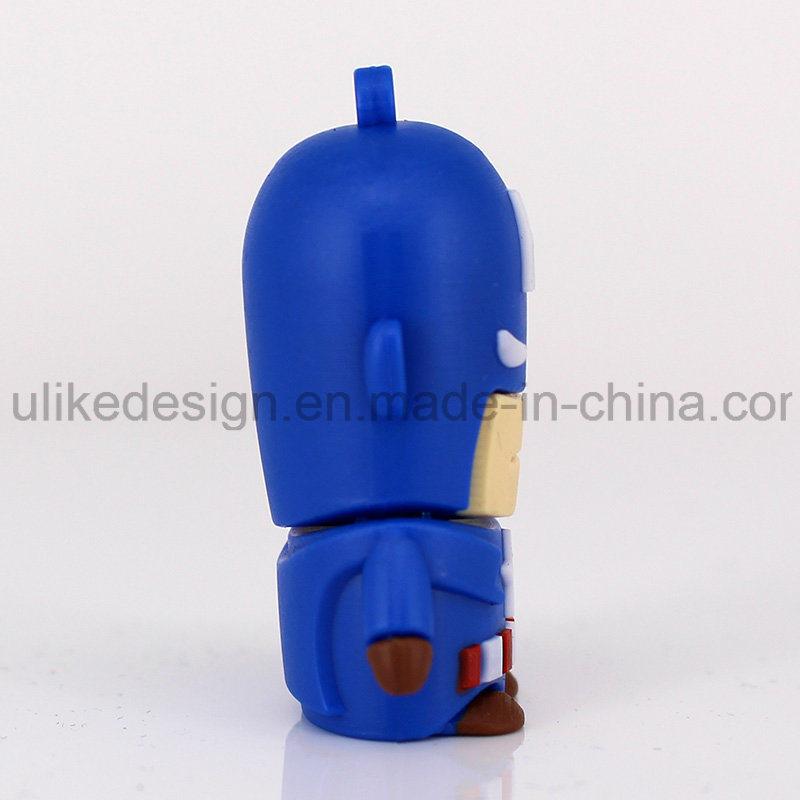 Captain America PVC USB Flash Drive (UL-PVC015)