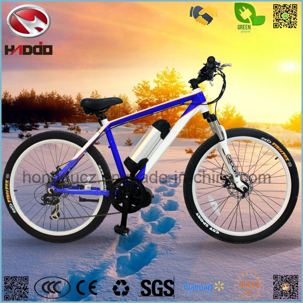 Electric Middle Motor Mountain Bicycle with Conversion Kit
