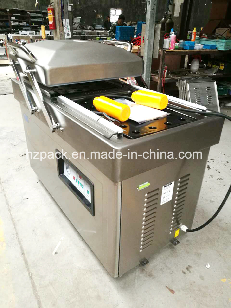 Dz-400/2s Double Chambers Vacuum Packer Packing Machine From China