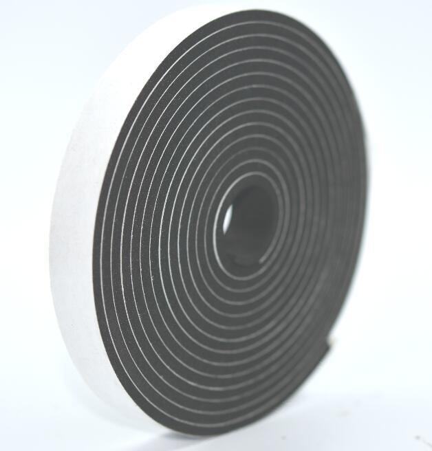 Black Color Close Sell Self Adhesive Neoprene Cr Foam Sealing Tape