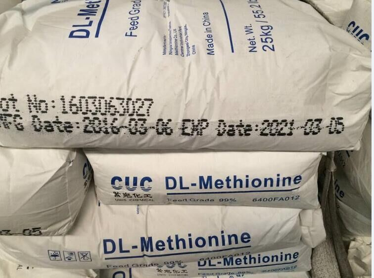 Feed Grade Methionine for Sale, Dl-Methionine, Dl-Methionine 99%