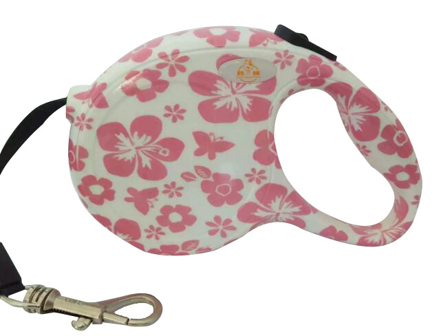 Water Transfer Printing/ABS Retractable Dog Leash
