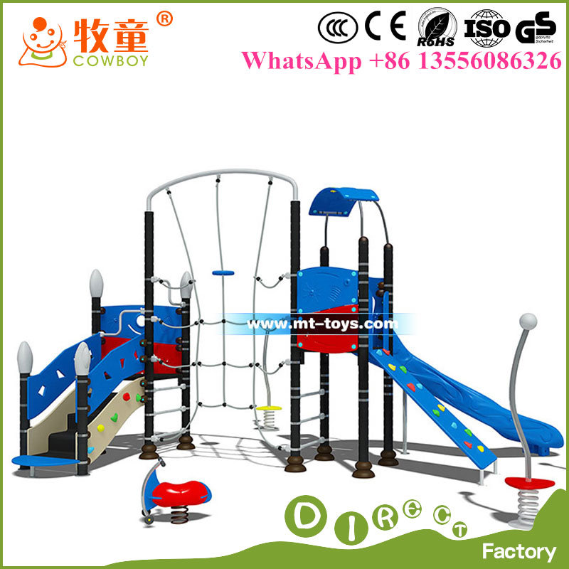 China High Quality Outdoor Children Playground Equipment / Outdoor Playground Slide for Kids