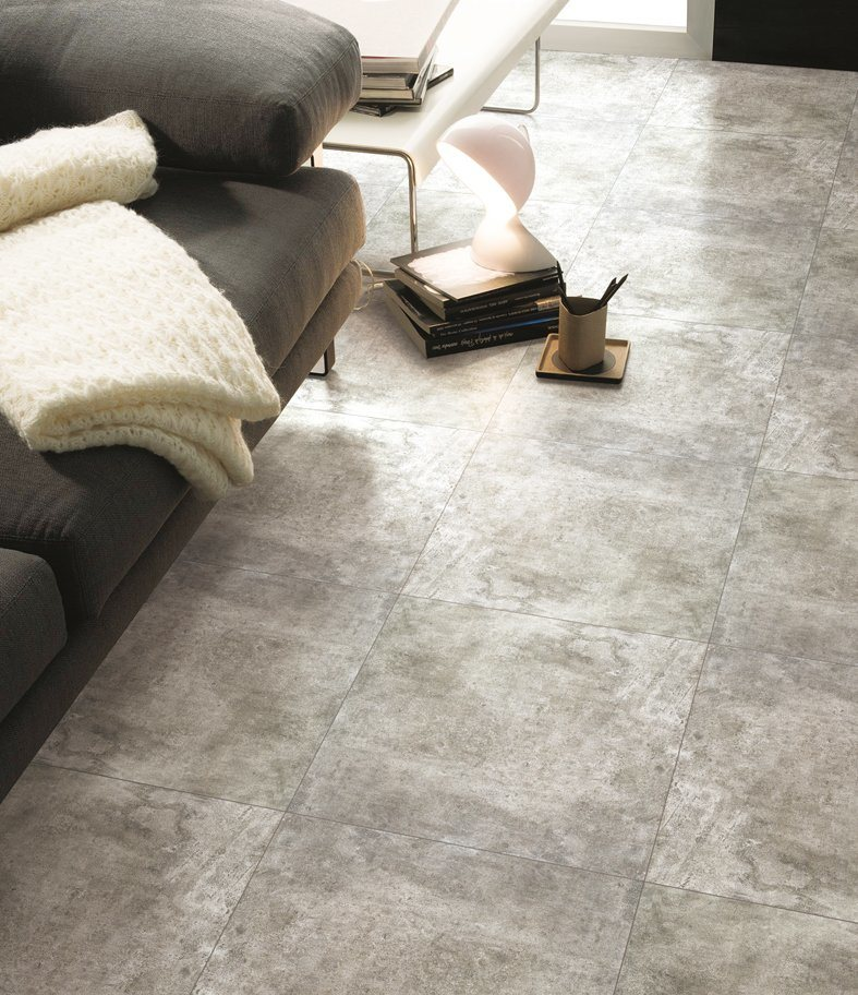 Glazed/Antique Design in Multi-Look/Random Pattern Porcelain Floor & Wall Tile