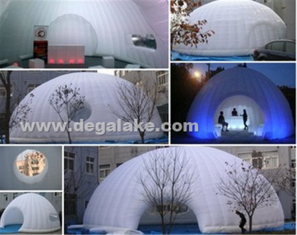 Attractive LED Lighting Inflatable Football Tent for Advertising for Party
