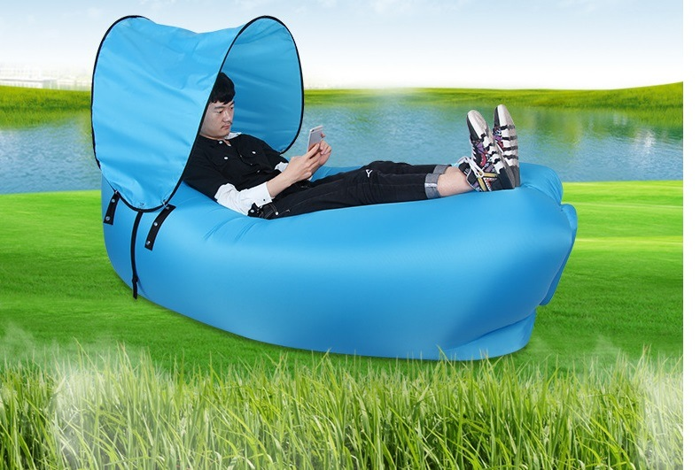 Hotsales Inflatable Air Sofa for Outdoor Activities with Suncover