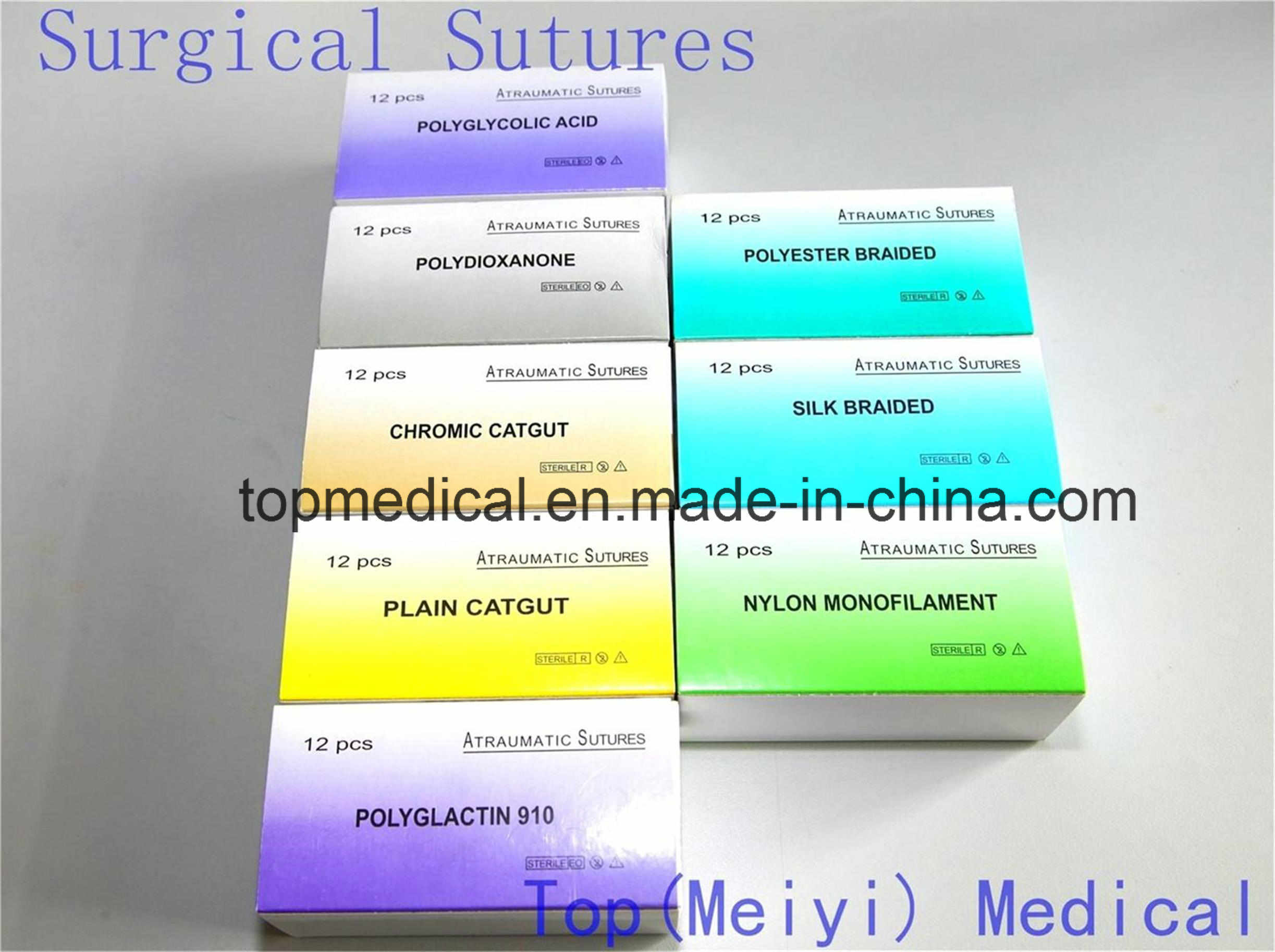 Surgical Suture/Suture with Needle Absorbable Suture Polyglactin 910